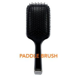 how to blow dry your hair with a paddle brush